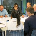 Alpine Fault Science Workshop - Earthquake Source team in action. October 2016