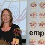 AF8 Roadshow EMPA Excellence Award Alice Lake-Hammond